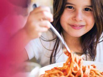 Promotion les enfants mangent gratuitement!